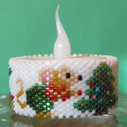 Christmas Tree Napkin Pattern: Mouse & Christmas Tree Tea Light Cover / Napkin Ring