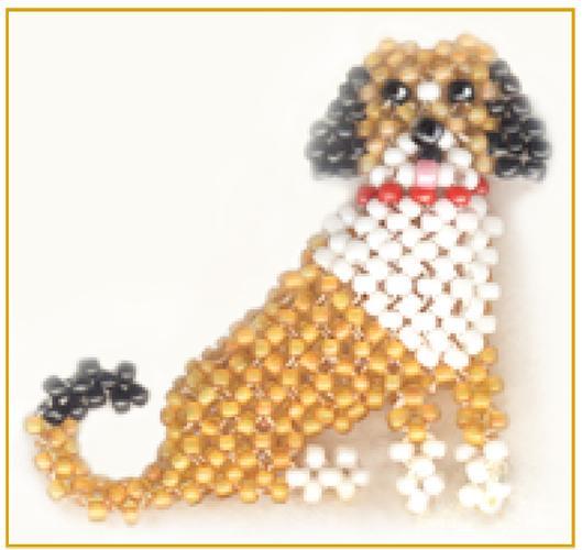 3D RAW Dog | Bead-Patterns